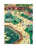 The New Yorker Cover - May 26  1945
