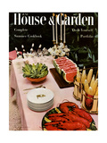House & Garden Cover - June  1954
