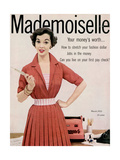 Mademoiselle Cover - March 1953