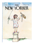 The New Yorker Cover - January 13  1992