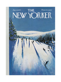 The New Yorker Cover - January 20  1973