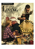 Living for Young Homemakers Cover - April 1949