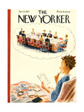 The New Yorker Cover - January 4  1947