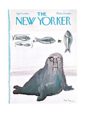 The New Yorker Cover - April 6  1968