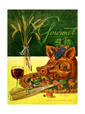 Gourmet Cover - January 1951