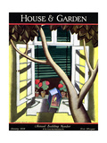 House & Garden Cover - January 1928
