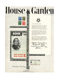 House & Garden Cover - June 1945