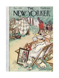 The New Yorker Cover - August 3  1935