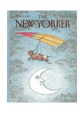 The New Yorker Cover - November 21  1988