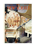 The New Yorker Cover - January 8  1944