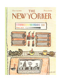 The New Yorker Cover - October 10  1983