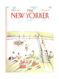 The New Yorker Cover - August 2  1982