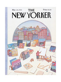 The New Yorker Cover - March 18  1985