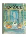 New Yorker Cover - November 04  1985