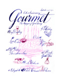Gourmet Cover - September 2001