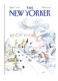 The New Yorker Cover - September 7  1992