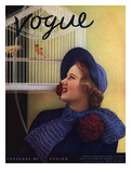 Vogue Cover - January 1935