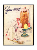 Gourmet Cover - April 1956