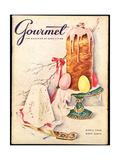 Gourmet Cover - April 1956