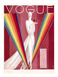 Vogue Cover - September 1926 Reproduction d'art par Eduardo Garcia Benito