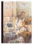 The New Yorker Cover - March 28  2005