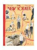 The New Yorker Cover - November 16  1957