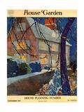 House & Garden Cover - November 1917