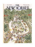 The New Yorker Cover - January 18  1958