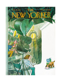 The New Yorker Cover - February 19  1972
