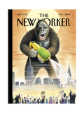 The New Yorker Cover - August 1  2005