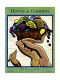 House & Garden Cover - October 1928