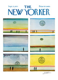 The New Yorker Cover - September 25  1971