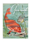 Gourmet Cover - February 1951