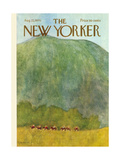 The New Yorker Cover - August 22  1970