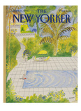 The New Yorker Cover - April 21  1986