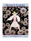 House & Garden Cover - March 1928