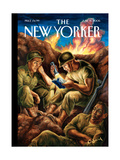 The New Yorker Cover - June 12  2006