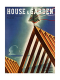 House & Garden Cover - March 1936