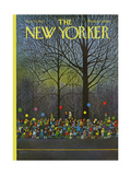 The New Yorker Cover - November 25  1972