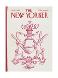 The New Yorker Cover - April 5  1969