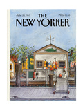 The New Yorker Cover - June 24  1985