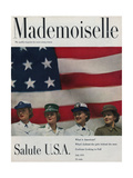 Mademoiselle Cover - July 1951