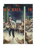 The New Yorker Cover - August 8  1942