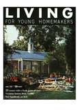 Living for Young Homemakers Cover - April 1958