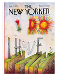The New Yorker Cover - July 31  1971