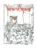 The New Yorker Cover - January 5  1981