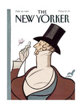 The New Yorker Cover - February 20  1989