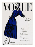 Vogue Cover - April 1947