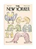 The New Yorker Cover - June 13  1977