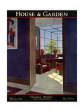 House & Garden Cover - February 1930